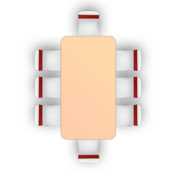 6 Foot Folding Table Interesting Rectangular