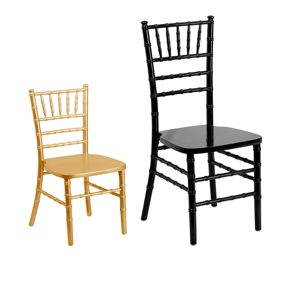 Gold chiavari chair -  Gold Kids Chiavari Chair Size Comparison