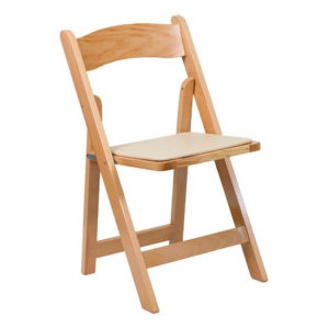 Natural-Wood-Folding-Chair-with-Vinyl-Padded-Seat