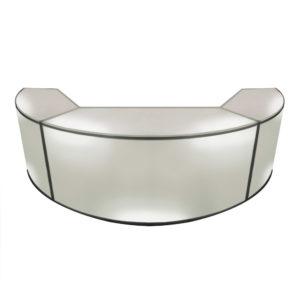 White-Curve-Bar