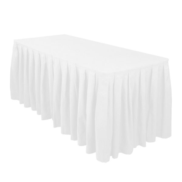 White-Table-Skirts