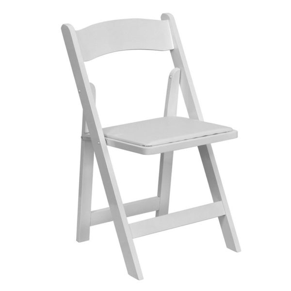 White-Wood-Folding-Chair-with-White-Vinyl-Padded-Seat