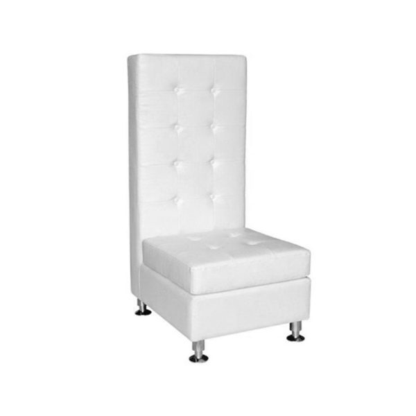 white-leather-chair-high-style-with-buttons