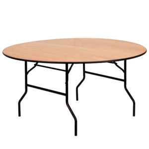 60%22-Round-with-30%22H-Wood-Folding-Table-8-to-10-People