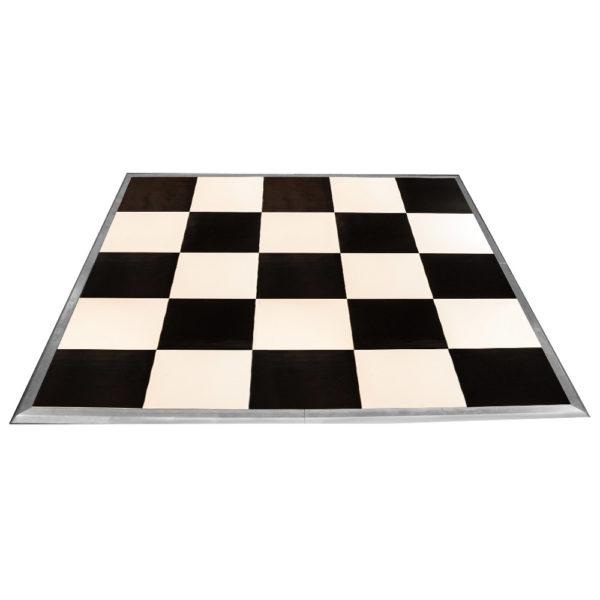 Chess Black Amp White Dance Floor Red Balloon Party Rental