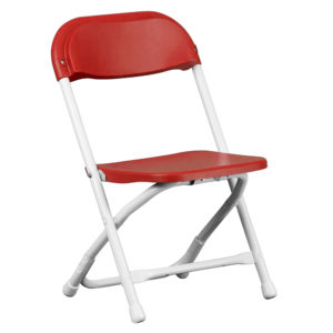 Red-Kids-Plastic-Folding-Chair