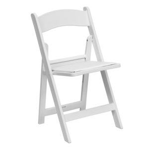 White-Resin-Folding-Chair-with-White-Vinyl-Padded-Seat