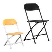 Yellow-Kids-Plastic-Folding-Chair-Size-Comparison