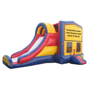 bounce-house+climbing-wall+slide